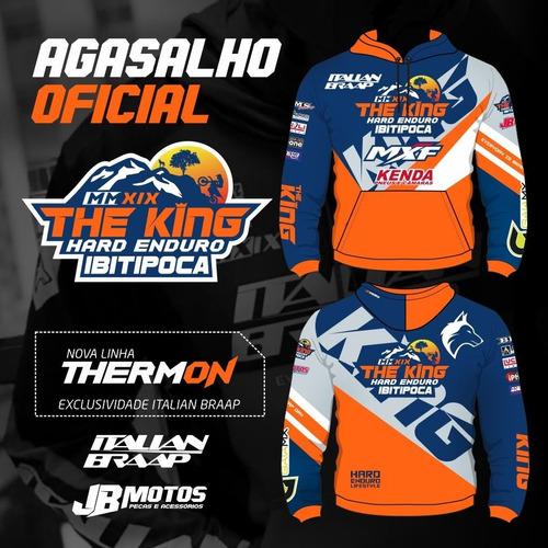 casaco thermon oficial the king ibitipoca - italian braap