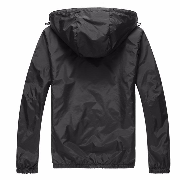 Casaco jaqueta blusa Frio Masculino Poliester Academia Touca - R ... 43e81c0dd2471