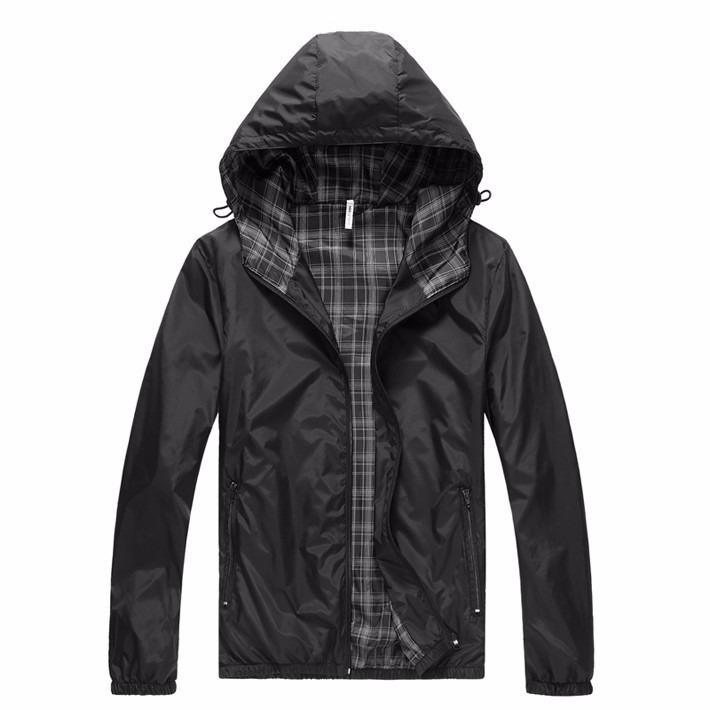 Casaco jaqueta blusa Frio Masculino Poliester Academia Touca - R  124 c9f4fb4cfd978