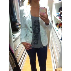 f58c27029a8c2 Blazer Branco Zara - Blazer para Feminino no Mercado Livre Brasil