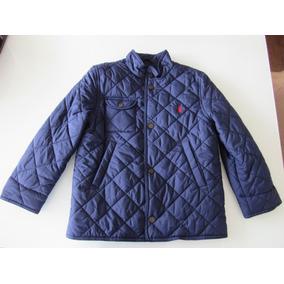 7ca9a4cf0f96a Jaqueta Polo Ralph Lauren Infantil Masculina 7 Anos Usada