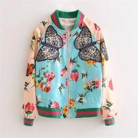 ab2242b1d22 Jaqueta Bomber Floral Estilo adidas Pronta Entrega