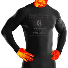 f0d45a7d7fd70 Camisa Térmica Rash Guard Segunda Pele Extreme Top Confort