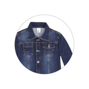 33985b8eeb6 Jaqueta Infantil Menino Em Moletom Jeans Puc - 324u39h