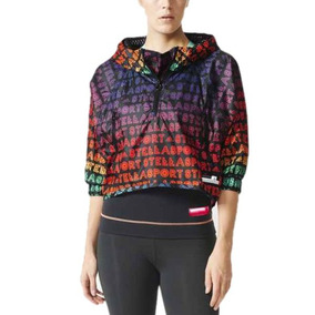 17c590f602e Jaqueta adidas Stella Mccartney Blusa Quebra Vento Cropped