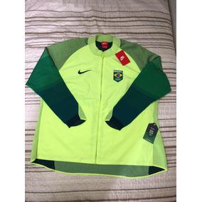 17cb488a38694 Jaqueta Nike Time Brasil Olimpíadas Rio 2016. R  899