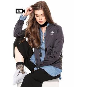 464770a0cbb Jaqueta Bomber Feminina Adidas Infantil - Calçados