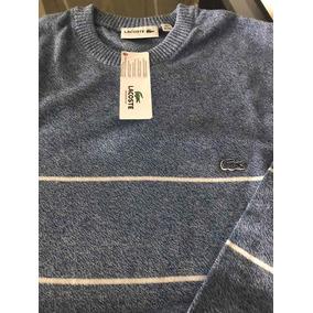 5efcc22ffd1a7 Pullover Lacoste Original - Casacos no Mercado Livre Brasil