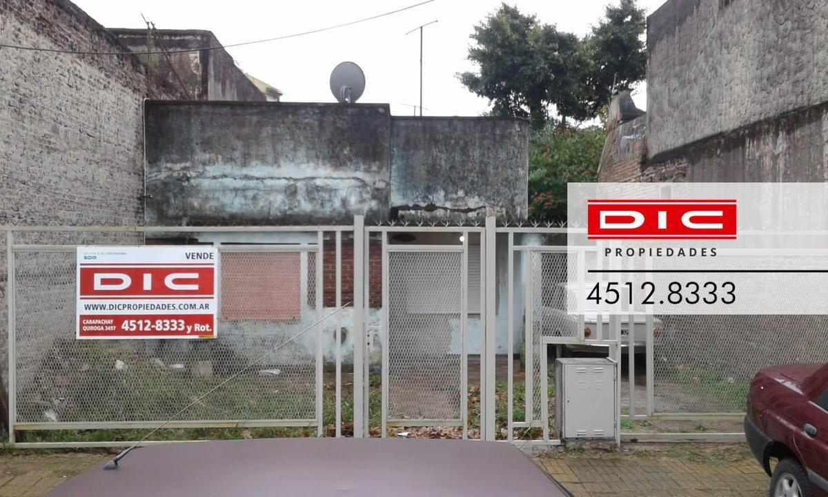 casa/lote ideal p/reciclar con entrada para autos, muy buenos accesos - munro