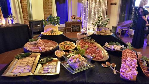casamiento boda fiesta catering 15 años finger food asadp