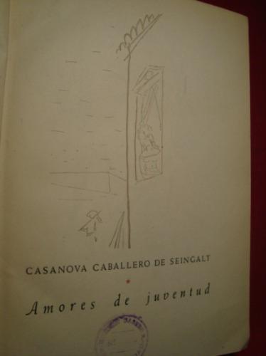 casanova  de seingalt, margarita g. salfatti