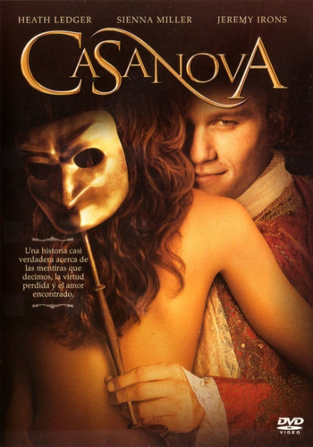 casanova ( heath ledger / jeremy irons ) dvd original