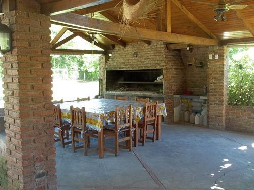 casaq. pilar z/ village, fin/sem, reuniones familiares. etc.