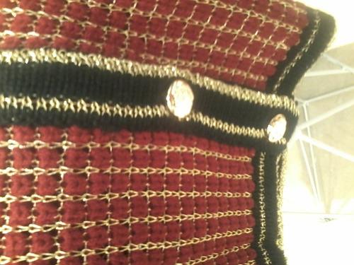 casaqueto inspired carol bassi com fio lurex blusa cores