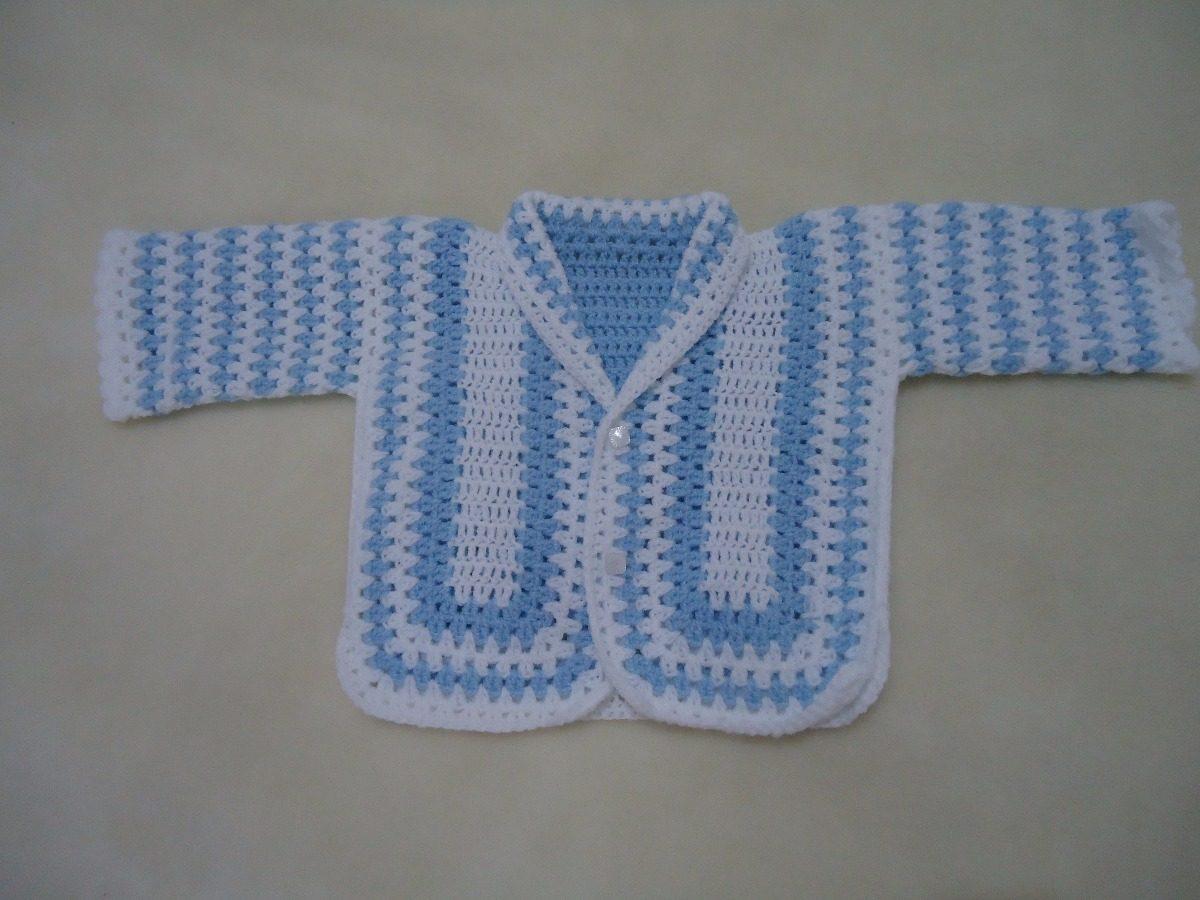 casaquinho de bebê em crochê feito a mão. Carregando zoom. 37f303974f8