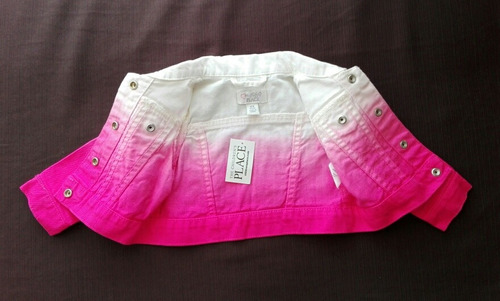 casaquita rosada para bb talla 6 a 9 meses marca 1989 place