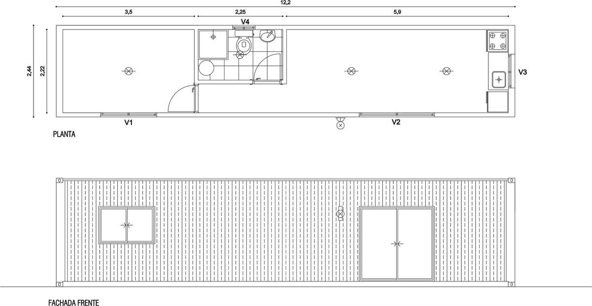 casas 30m2 - contenedores