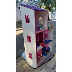 Casas Barbie 3 Pisos Completa 108 De Altura Elige El Color