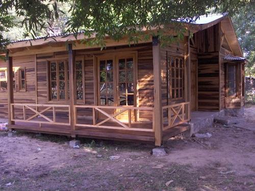 casas cabaña fabrica