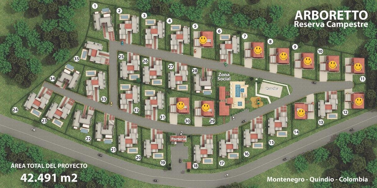 casas campestres 184 m2 pueblo tapao