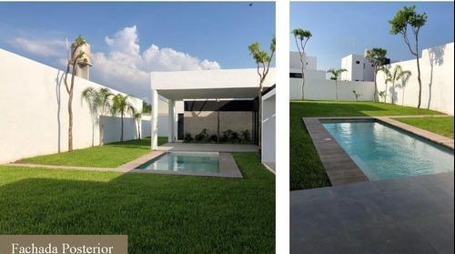 casas de 1 planta en la privada olivia modelo rioja preventa