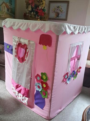 casas de juegos para niñas y niños, juguete, princesa, toldo