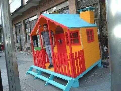 casas de madera habitables 3.50x2.50m
