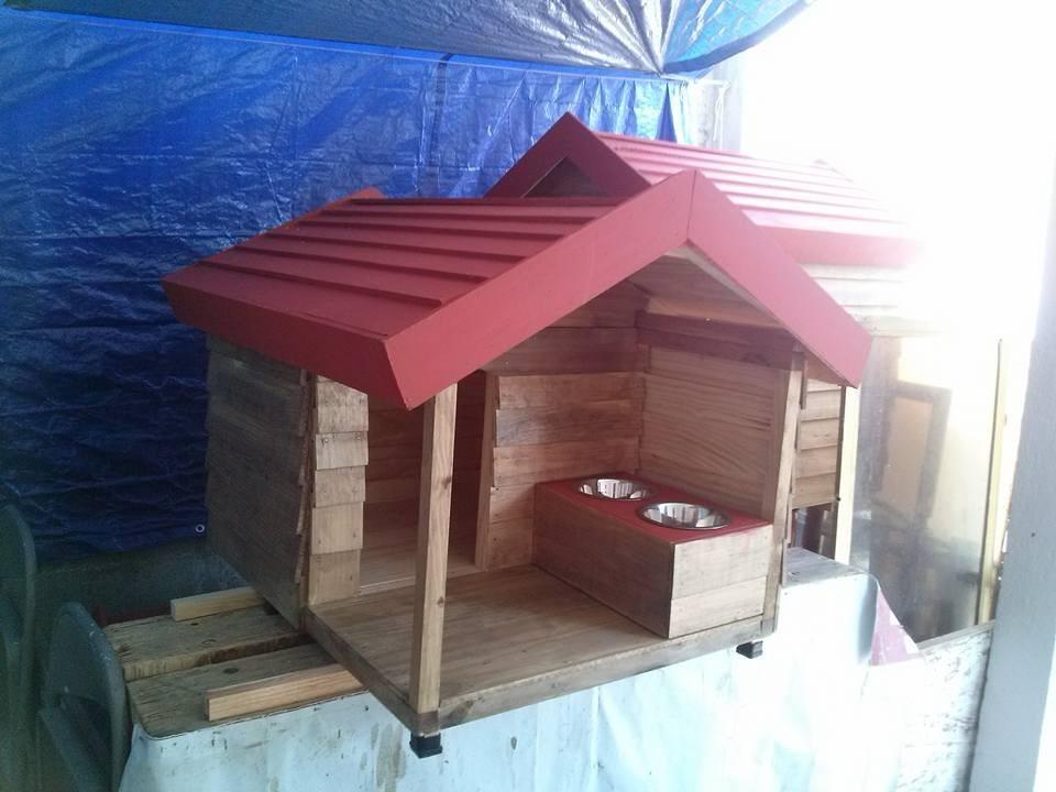 Casas de madera para mascota pet house mediana con - Casas de madera balcan house ...