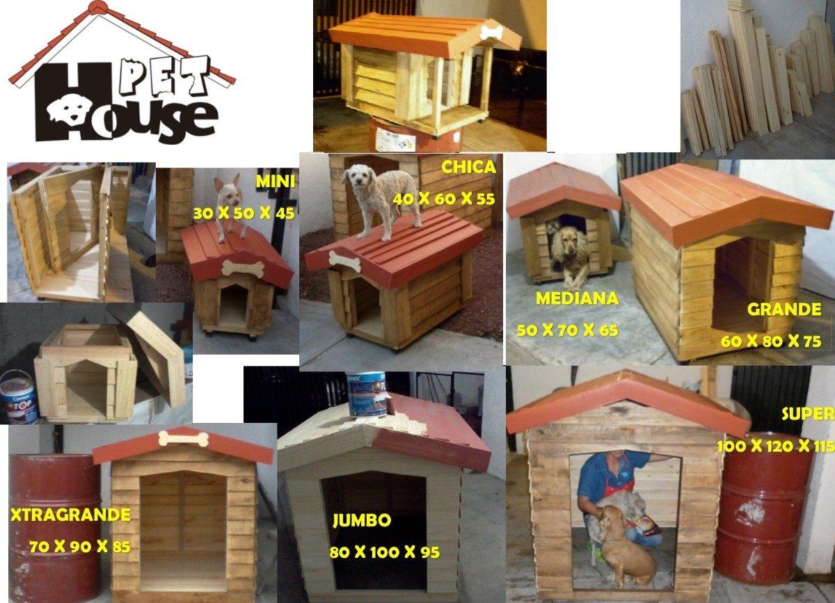 Casas de madera para mascota pet house mini msi en mercado libre - Mini casas de madera ...