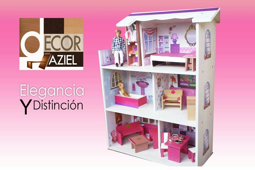 Casas De Muñecas Barbie Casita Juguete Liquidación Total!! - Bs ...