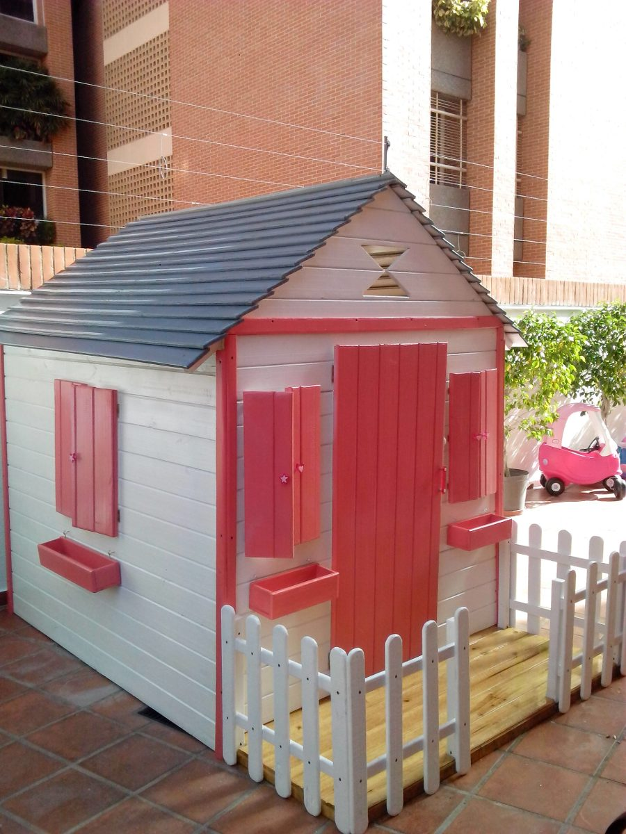 Casas de ni as juguete grande en madera bs - Casas para ninas de madera ...