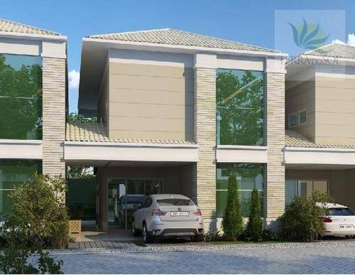 casas duplex em condomínio com lazer completo. - ca0560