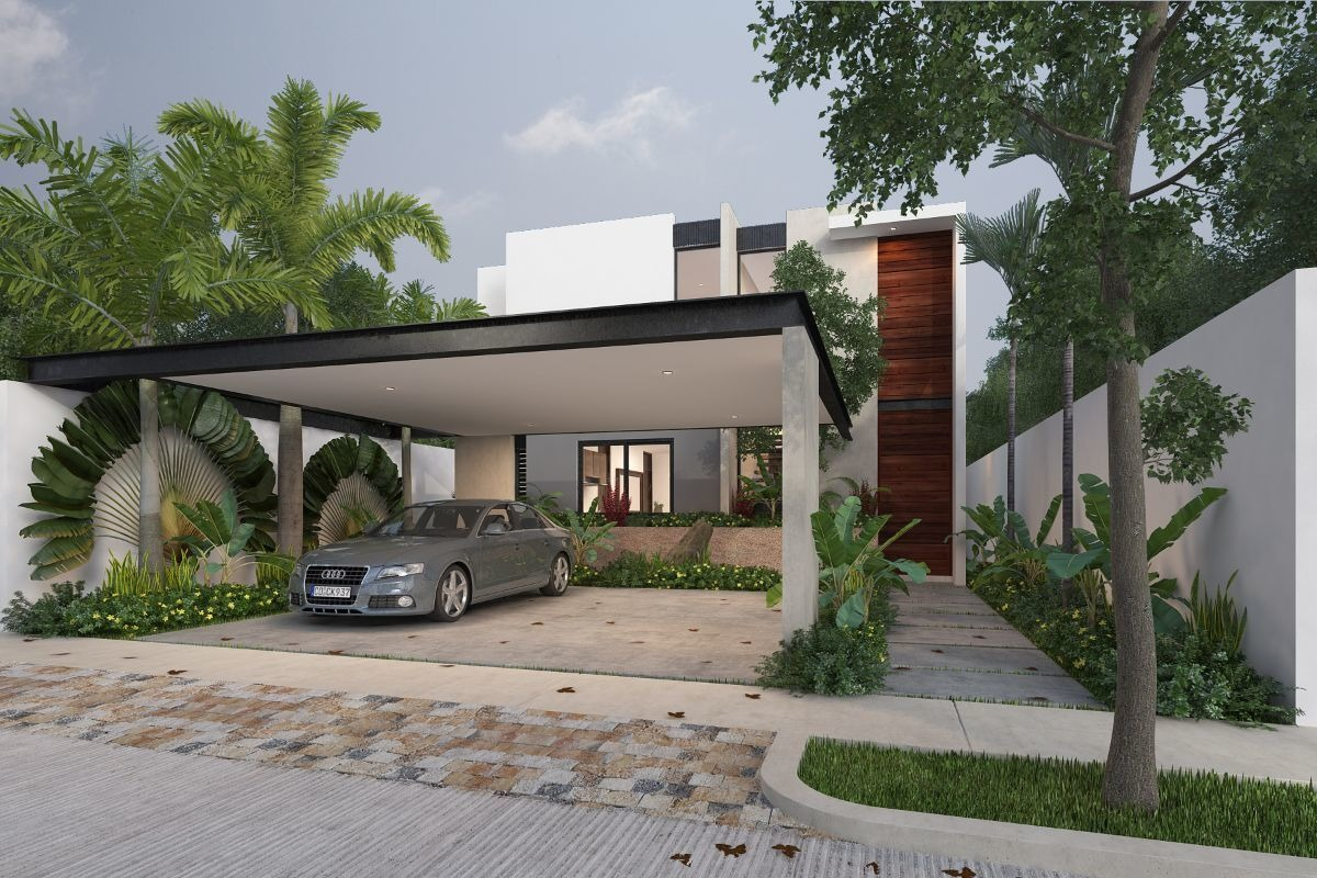 casas en preventa en yaáx-beh residencial en cholul mod. d