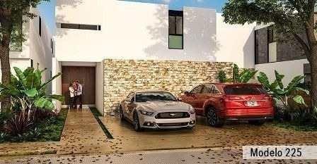 casas en privada residencial olivos, cholul, yuc. modelo 225
