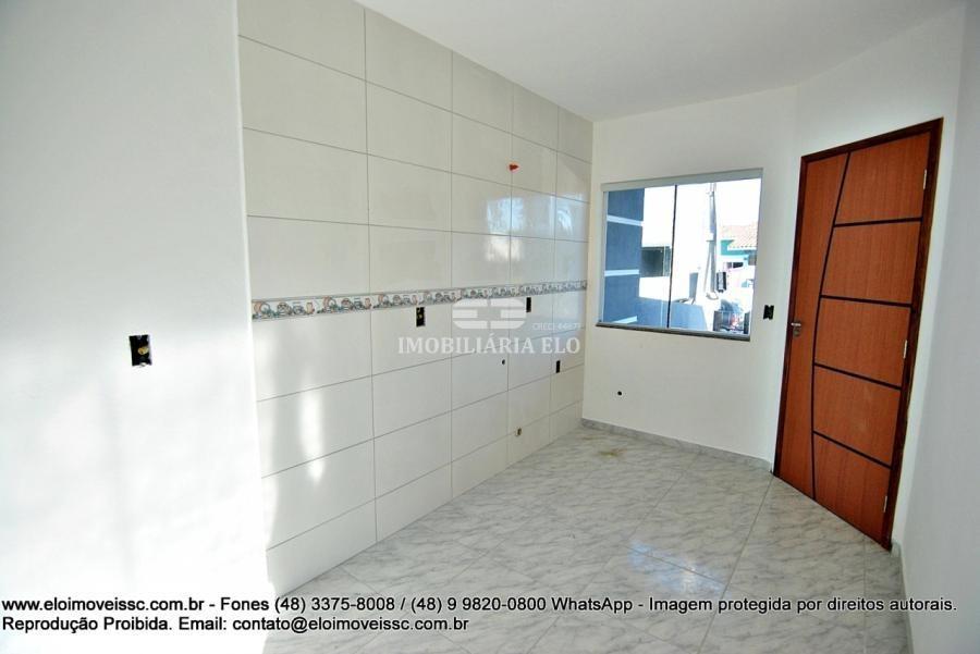 casas geminada de 02 dormitórios, 01 banheiro no caminho das flores - 4017