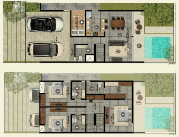 casas habitación en privada cerca de la avenida tecnológico