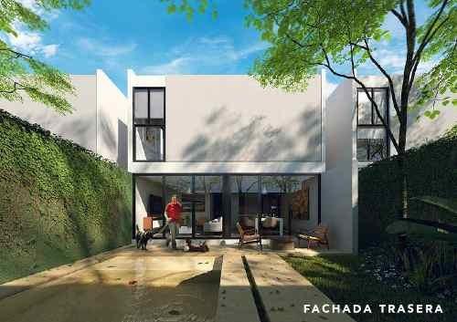 casas habitación en privada kanahil