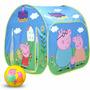 Casa Infantil De Peppa Pig Carpa Plegable + Regalo!!! El Rey
