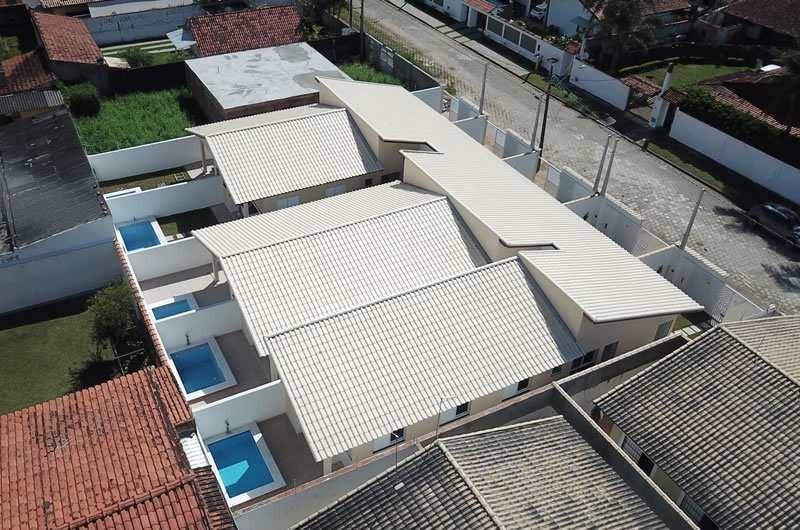 casas novas, 3 dorm. piscina e a 50m da praia - cod: 344 - v344