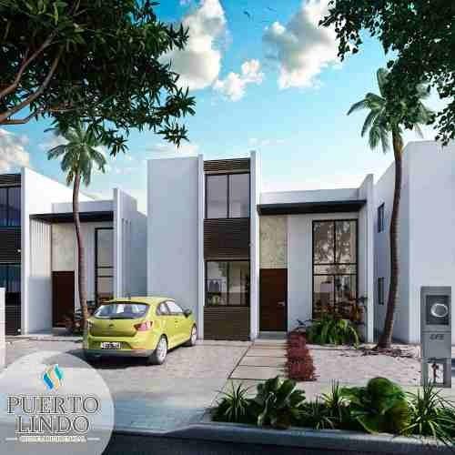casas nuevas residenciales en chelem puerto con amenidades