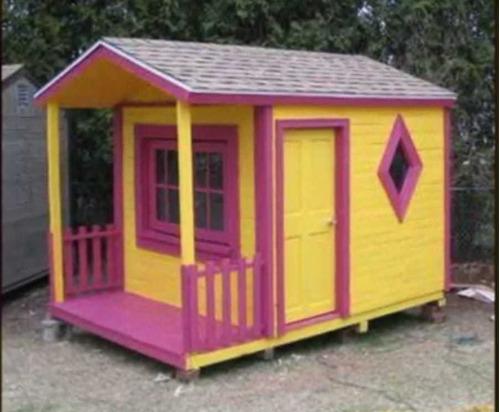 casas para juegos de niños para jardín