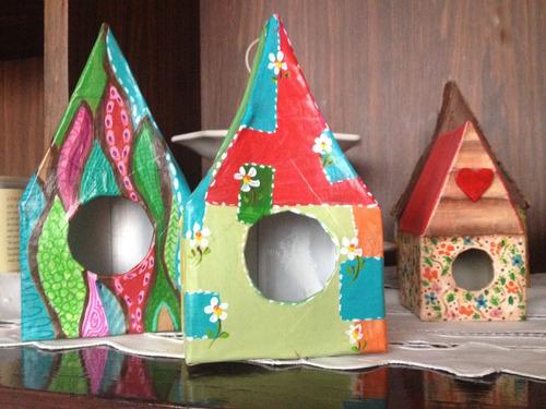 casas para pajaritos