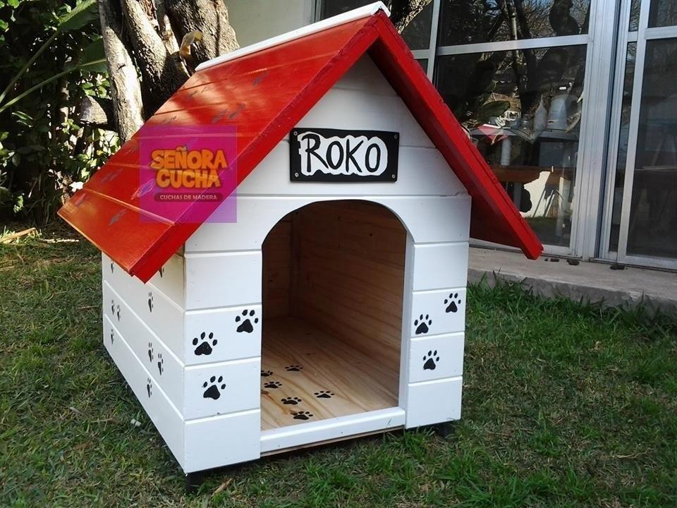 Casas Para Perros En Madera - Bs. 33.000,00 en Mercado Libre