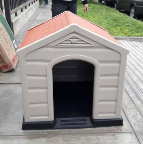 casas para perros oferton en 2 colores y 2 tamaños