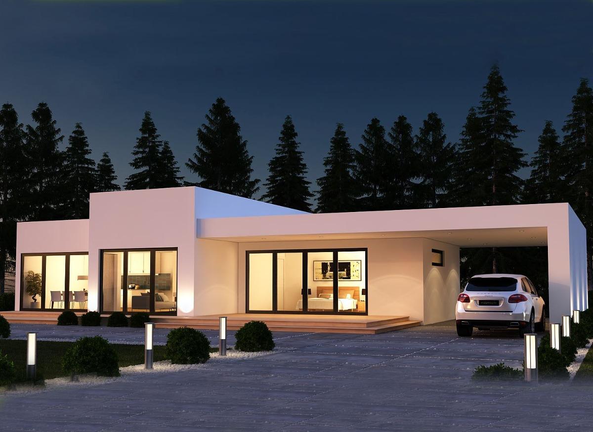 Casas prefabricada llave en mano n 010 for Costo casa prefabricada