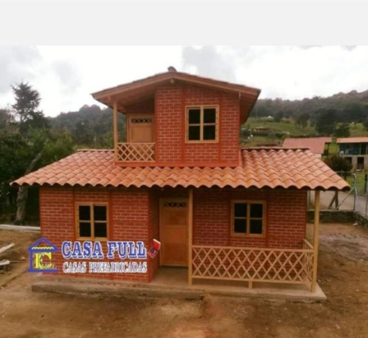 casas prefabricadas 1 y 2 niveles