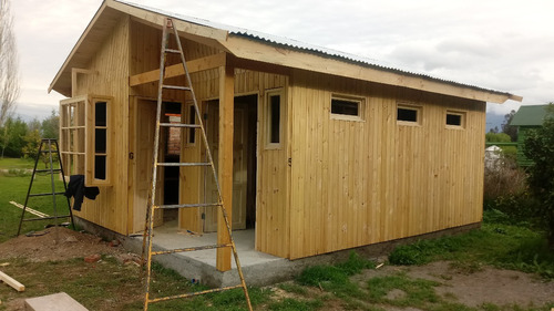 casas prefabricadas 30 m2 calidad puertas vent vidrios vigas