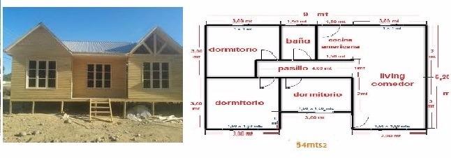 Casas Prefabricadas 54 M2 En Mercado Libre