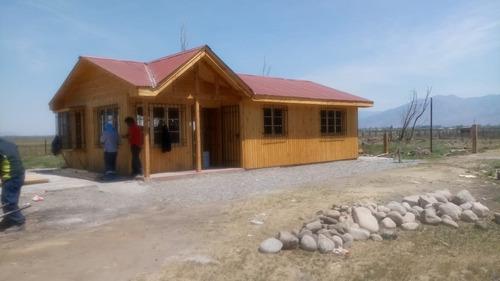 casas prefabricadas 60 m2 calidad vigas vista ventanas etc.