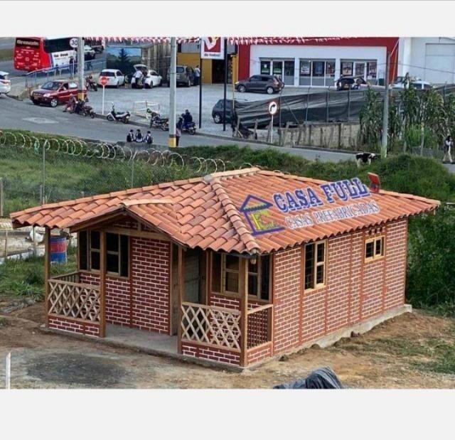 casas prefabricadas de 1 y 2 niveles